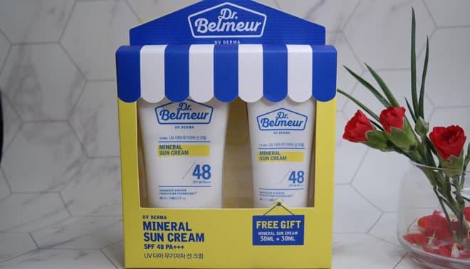 Dr.Belmeur Mineral Sun Cream SPF 48
