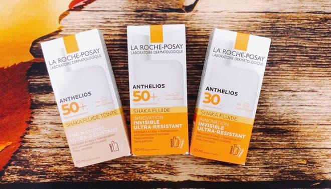 Kem chống nắng La Roche - Posay Anthelios Shaka Fluid SPF50+ cho da nhạy cảm